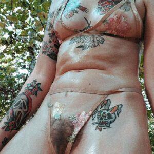 Chica tatuada fotos XXX